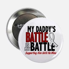 """My Battle Too 1 PEARL WHITE (Daddy) 2.25"""" Button"""