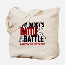 My Battle Too 1 PEARL WHITE (Daddy) Tote Bag