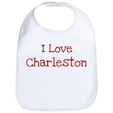 I love Charleston Bib