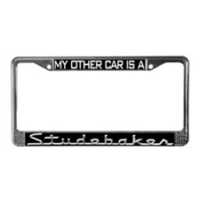 Unique Pierce License Plate Frame
