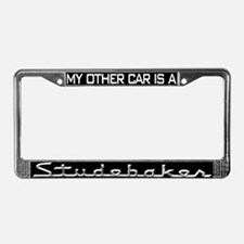 Cute South bend in License Plate Frame