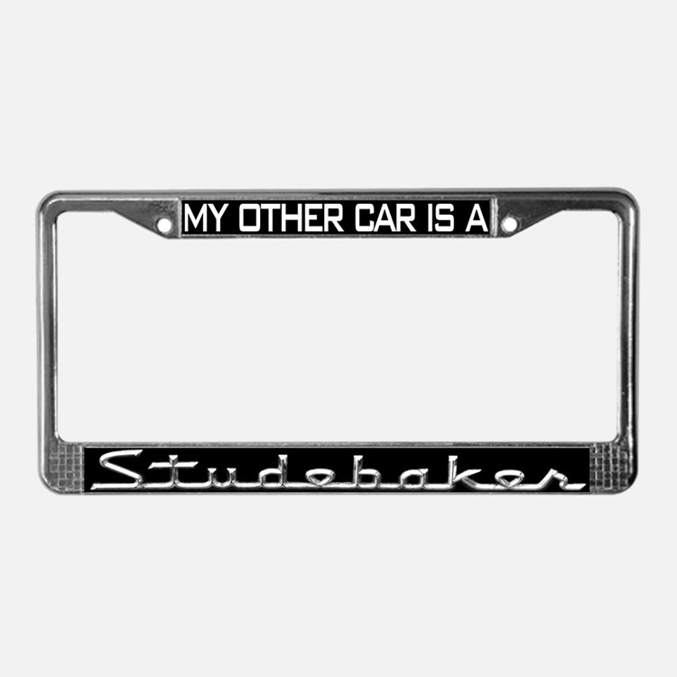 Cute South bend License Plate Frame