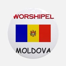 I'm Worshiped In MOLDOVA Ornament (Round)