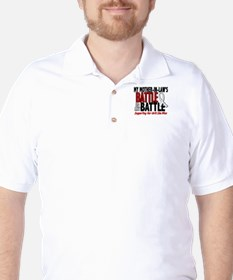 My Battle Too 1 PEARL WHITE (Mother-In-Law) T-Shirt
