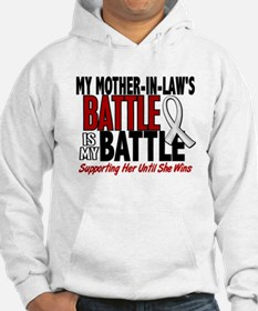 My Battle Too 1 PEARL WHITE (Mother-In-Law) Hoodie