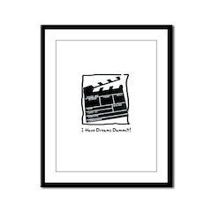 Acting Dreams! Framed Panel Print