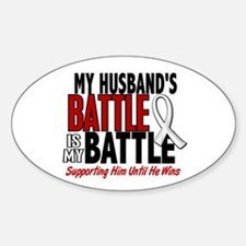 My Battle Too 1 PEARL WHITE (Husband) Decal