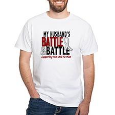My Battle Too 1 PEARL WHITE (Husband) Shirt