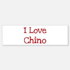 I love Chino Bumper Sticker (50 pk)