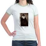 Charles Darwin Jr. Ringer T-Shirt