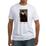 Charles Darwin Fitted T-Shirt