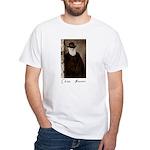 Charles Darwin White T-Shirt