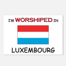 I'm Worshiped In LUXEMBOURG Postcards (Package of