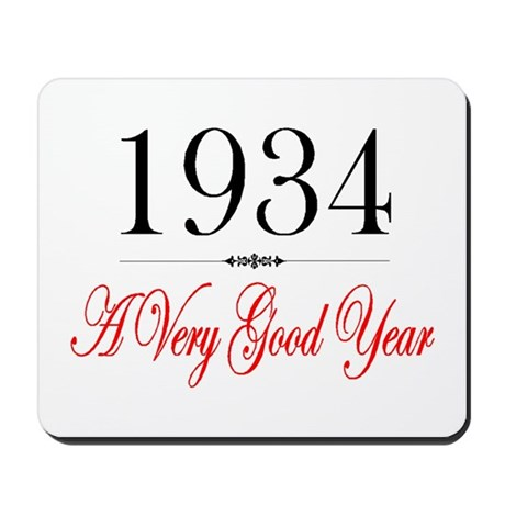 1934 Mousepad