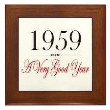 1959 Framed Tile