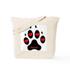 """Keeshond"" Tote Bag"