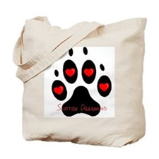 """Scottish Deerhound"" Tote Bag"