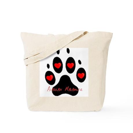 """""""Alaskan Malamute"""" Tote Bag"""