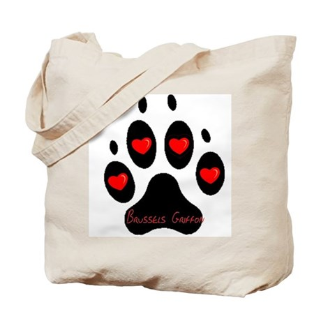 """""""Brussels Griffon"""" Tote Bag"""