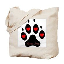 """Finnish Spitz"" Tote Bag"