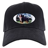 Mountain bernese dog Black Hat