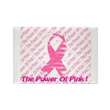 Power Of Pink! Rectangle Magnet