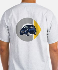 What's Your Color? Blue Smart Car T-Shirt