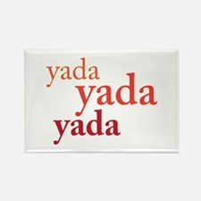 """Yada Yada Yada"" Rectangle Magnet"