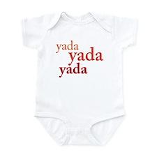 """""""Yada Yada Yada"""" Infant Bodysuit"""