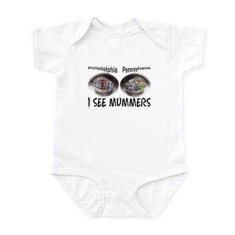 i see mummers 1 Infant Bodysuit