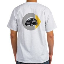 What's Your Color? Black Smart Car T-Shirt