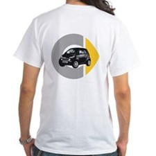 What's Your Color? Black Smart Car Shirt