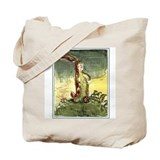 Velveteen rabbit Canvas Totes