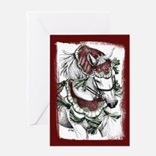 Holiday Horse Greeting Card