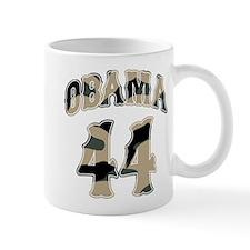 Obama camo 44th President Mug