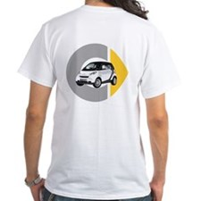 What's Your Color? White Smart Car T-Shirt