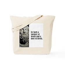 "Homer ""Be Both"" Tote Bag"