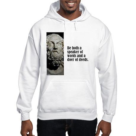 "Homer ""Be Both"" Hooded Sweatshirt"
