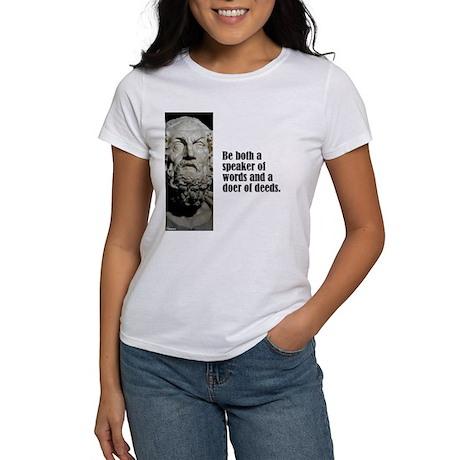 "Homer ""Be Both"" Women's T-Shirt"