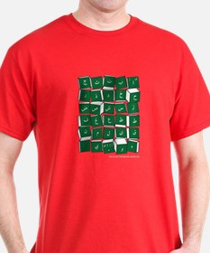 Arabic Alphabet Blocks T-Shirt