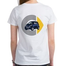 What's Your Color? Blue Smart Car Tee