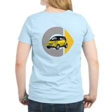 What's Your Color? Yellow Smart Car Light T-Shirt