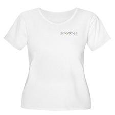What's Your Color? Black Smart Plus Size T-Shirt