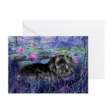 Shih Tzu Dog Fine Art Mopsie Greeting Cards (Packa