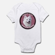 American Eskimo Pawperty Infant Bodysuit