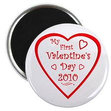 My First Valentine's 2010 Magnet