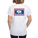 Wyoming-4 Women's V-Neck T-Shirt