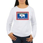 Wyoming-4 Women's Long Sleeve T-Shirt