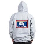 Wyoming-4 Zip Hoodie