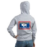 Wyoming-4 Women's Zip Hoodie